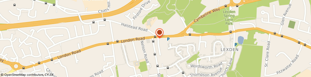 Route/map/directions to Ladbrokes Gaming - London Road, Colchester, CO3 4DG Colchester, 68 London Road