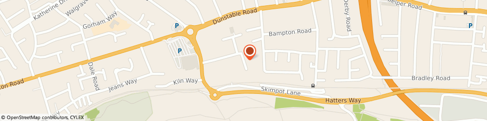 Route/map/directions to GAS Guaranteed Appliance Servicing, LU4 0JF Luton, Project House, Cradock Rd