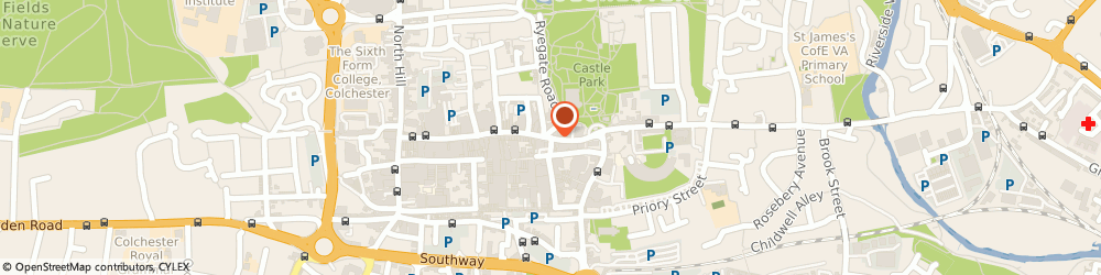 Route/map/directions to BOSS Menswear Shop, CO1 1PN Colchester, 152 High St