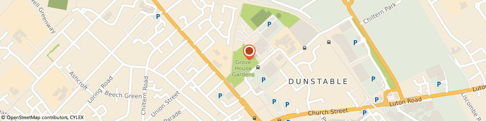Route/map/directions to Grove Theatre, LU5 4GP Dunstable, Court Drive