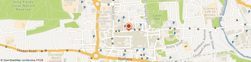 Route/map/directions to HSBC Bank, CO1 1DQ Colchester, 26 High Street