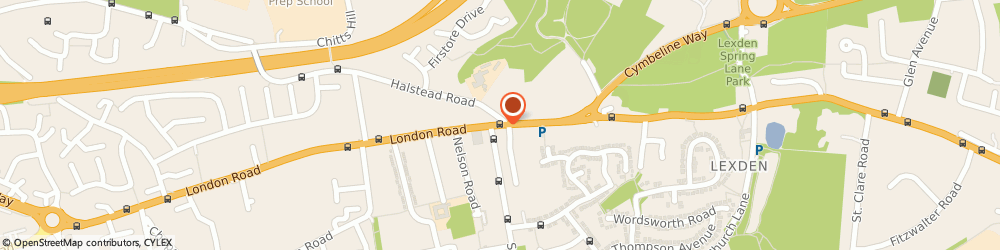 Route/map/directions to Nexus Technology, CO3 4DG Colchester, 72 London Road