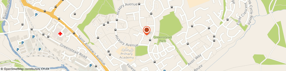 Route/map/directions to Greenstead Social Club, CO4 3QD Colchester, Blackthorn Ave