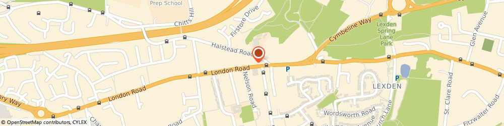 Route/map/directions to Hagad Limited, CO3 5AJ Colchester, 43/45 LONDON ROAD