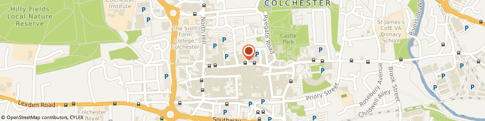 Route/map/directions to Helpline Community Alarms, CO1 1SP Colchester, 136-137 High Street