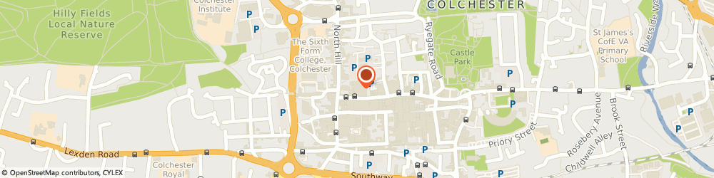 Route/map/directions to Carluccio's, CO1 1PN Colchester, 152 High Street