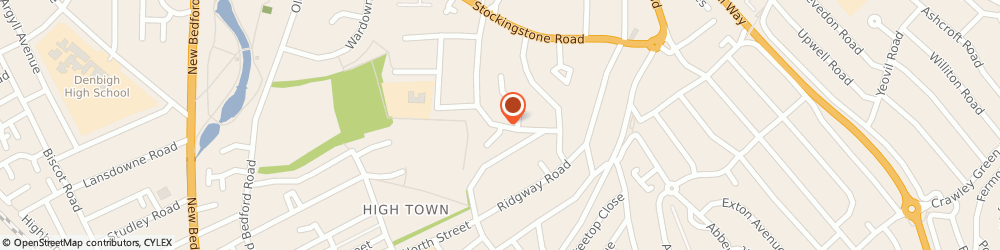Route/map/directions to Parkway Cleaning Services, LU2 7JJ Luton, 4 Richmond Court, Richmond Hill