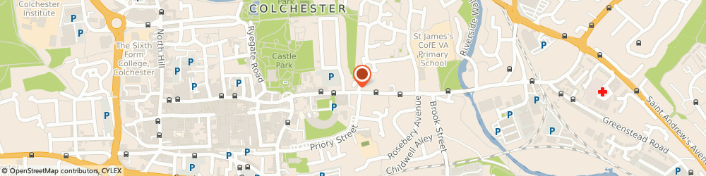 Route/map/directions to Workinfashion Ltd, CO1 2GP Colchester, 12 Belgrave Place