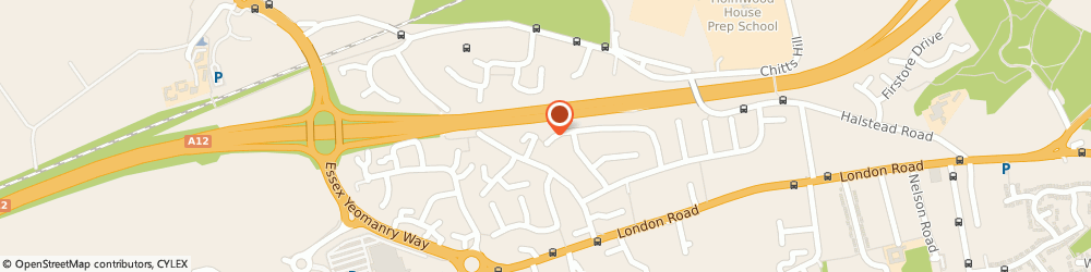 Route/map/directions to DTS MEDIA AND MARKETING LTD, CO3 0HH Stanway, 67 SWEET BRIAR ROAD
