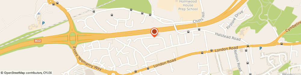 Route/map/directions to Stanway Villa Football Club, CO3 5HJ Stanway, 32 Sweetbriar Road