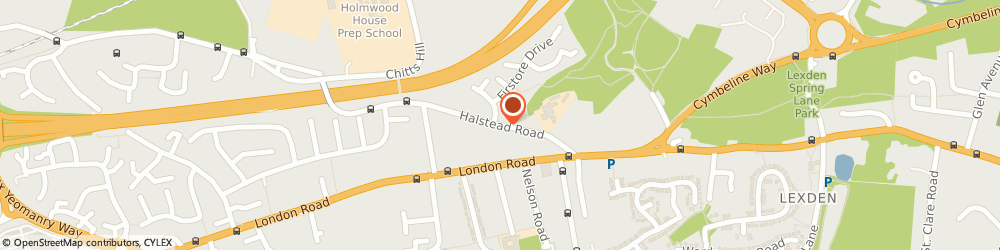 Route/map/directions to Bowen Therapy & The Journey, CO3 9AF Colchester, 38 Halstead Road
