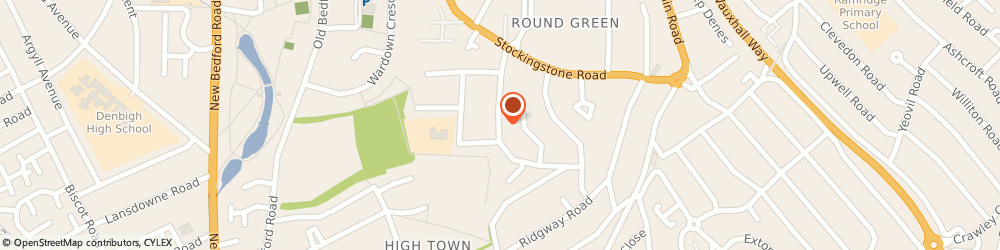 Route/map/directions to Alan Cox Carpet & Upholstery Care, LU2 7JQ Luton, 88 Richmond Hill