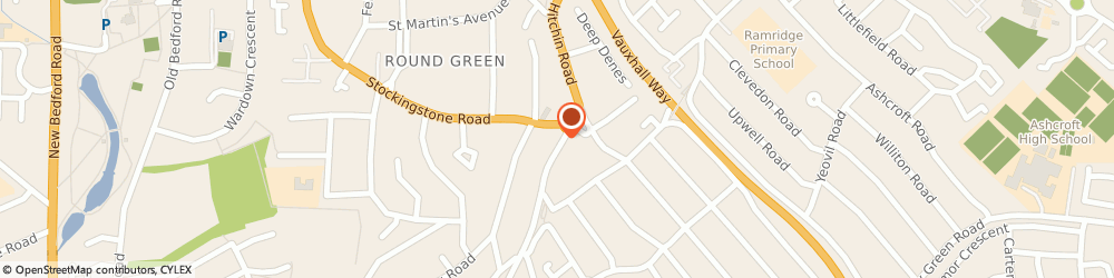 Route/map/directions to Roses Homecare Ltd, LU2 7SW Luton, 357 Hitchin Road
