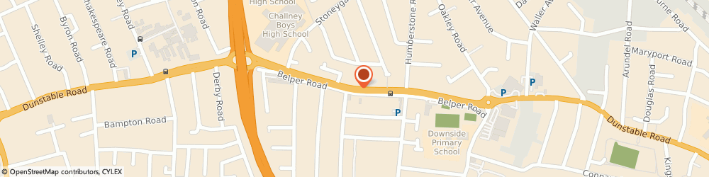 Route/map/directions to Home Improvement Centre, LU4 8BN Luton, 229 Dunstable Rd