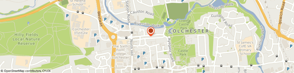Route/map/directions to Holland & Barrett, CO1 1LJ Colchester, Castle Court