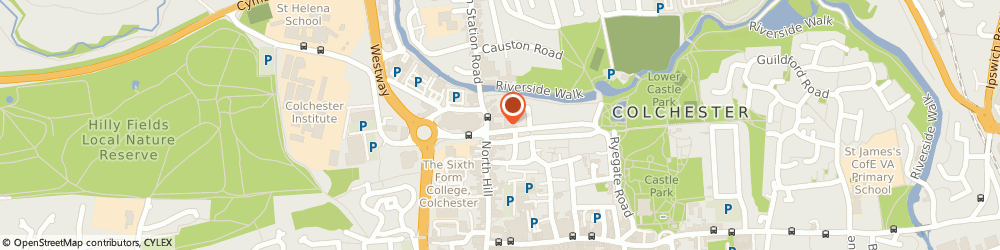 Route/map/directions to Ashurst Projects Limited, CO1 1EE Colchester, 1 ST. PETERS YARD, ST. PETERS STREET