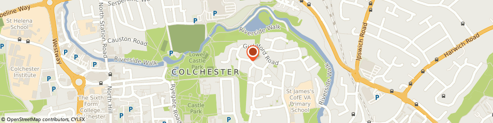 Route/map/directions to Jackson Plumbing & Heating (East Anglia) Limited, CO1 2RH Colchester, 15 Worcester Road
