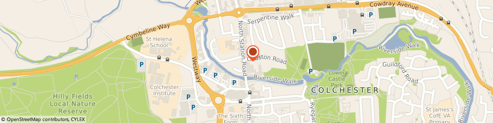 Route/map/directions to Summerhouse Hair, CO1 1RE Colchester, 27 North Station Road