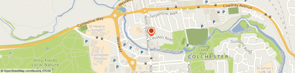 Route/map/directions to Kismet Balti House, CO1 1RQ Colchester, 31 North Station Road