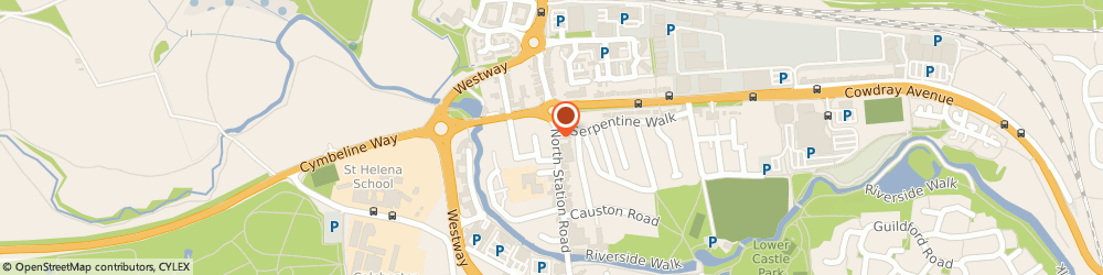 Route/map/directions to The Hair Factory Colchester, CO1 1SE Colchester, 66-68 N Station Rd