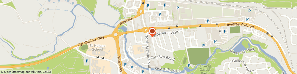 Route/map/directions to Central Tyre Ltd, CO1 1SB Colchester, 103 NORTH STATION RD