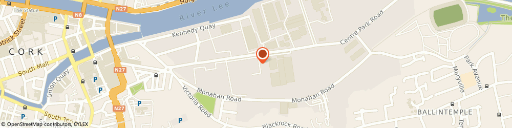 Route/map/directions to Riordan SEO Ireland,  Cork, New Park
