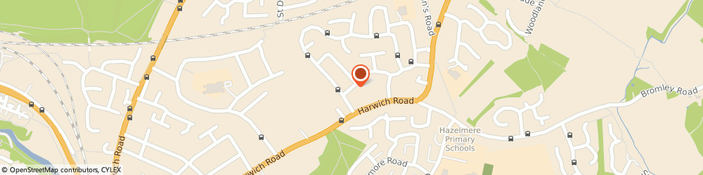 Route/map/directions to a P Cornell Plumbing & Heating Engineers, CO4 3HQ Colchester, 5 Churnwood Road