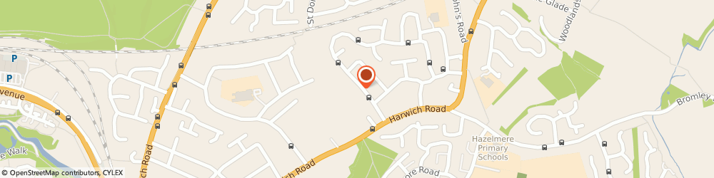 Route/map/directions to OJC Landscaping, CO4 3DT Colchester, 27 Hazelton Rd