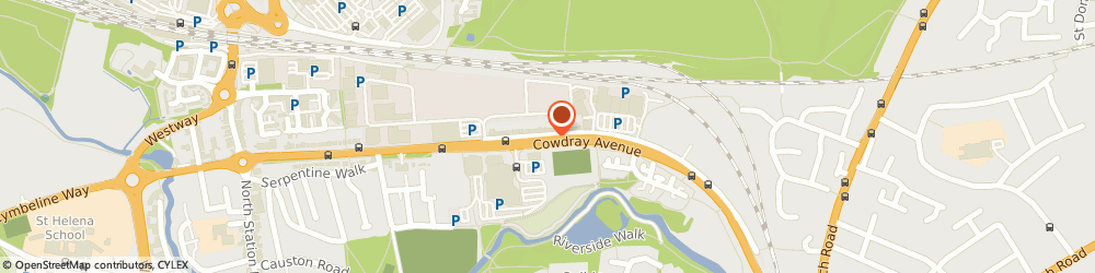 Route/map/directions to honey truffle catering, CO1 1XX Colchester, 166 cowdray avenue