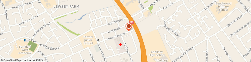Route/map/directions to Amcel Limited, LU4 0EF Luton, 86 LIME AVENUE