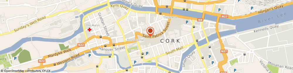 Route/map/directions to Prestige,  Cork, 62 ST. PATRICK ST