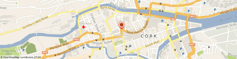 Route/map/directions to Flat Roof Company The,  Cork, 91, GRAND PARADE