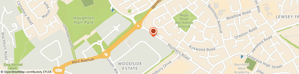 Route/map/directions to A-plant Dunstable - PSS Hire (441), LU5 4TP Dunstable, 3A Woodside Industrial Estate