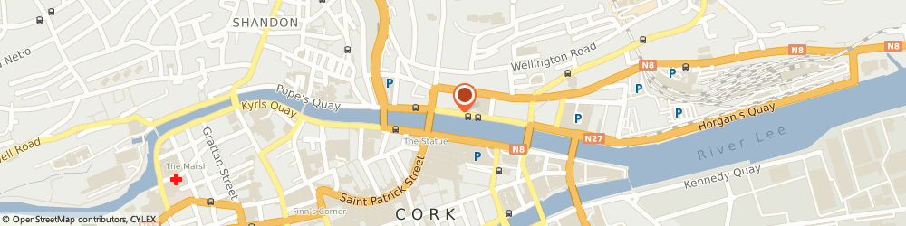 Route/map/directions to Lewis Digital Hearing Ltd,  Cork, 6 ST PATRICKS QUAY