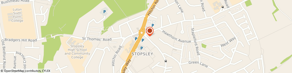 Route/map/directions to The Surgery, LU2 9AU Luton, 26 ASHCROFT ROAD