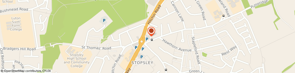 Route/map/directions to Locum Staffing, LU2 7XH Luton, 648 Hitchin Rd, Jansel House