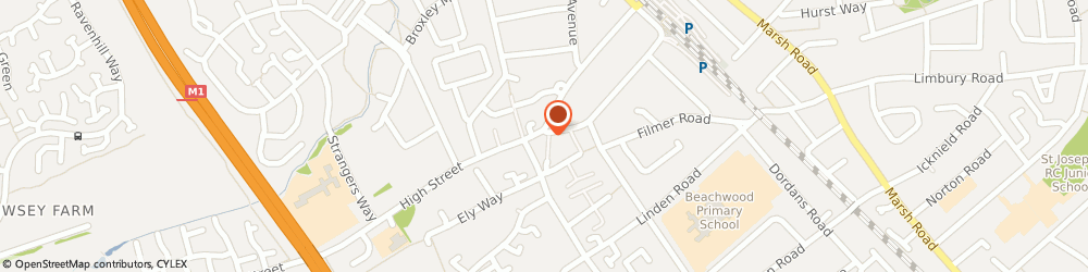 Route/map/directions to H20 Hair 2 Order, LU4 9JU Luton, 5 High St