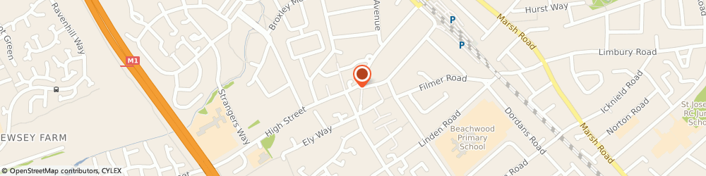 Route/map/directions to Leagrave Fish Fryer, LU4 9JU Luton, 11 High St