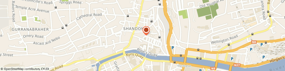 Route/map/directions to Faherty Martin,  Cork, SHANDON CRAFT CENTRE