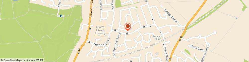 Route/map/directions to William H Brown Estate Agents, CO4 0NA Colchester, 42a St Christopher Road