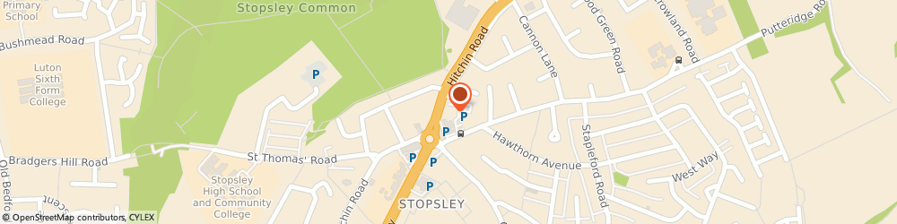 Route/map/directions to Guardian Property Services, LU2 7XH Luton, Plaza 668 Hitchin Road