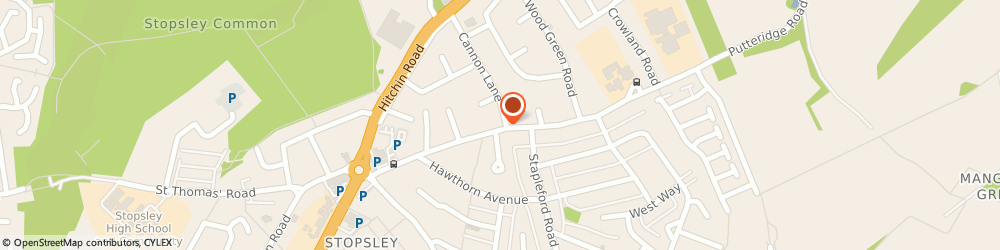 Route/map/directions to Linforth Master Carpentry, LU2 8HG Luton, 79 Putteridge Road