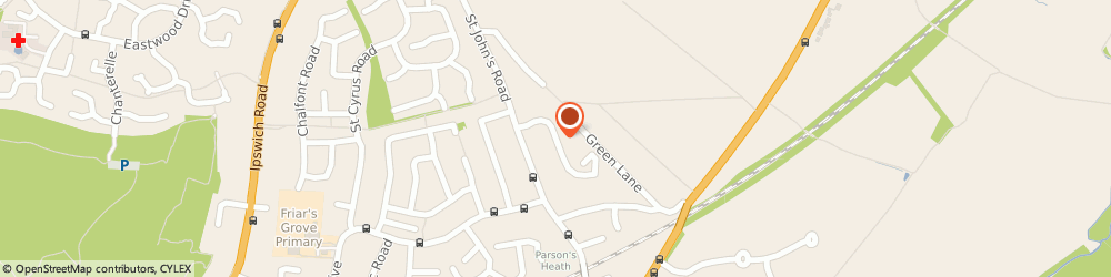 Route/map/directions to Leila Beauty Therapy, CO4 0JX Colchester, 9 Broad Oaks Park