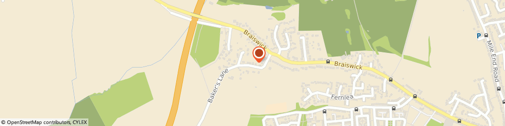 Route/map/directions to Cathy Brooks, CO4 5BB Colchester, HOLISTIC HEATH CARE