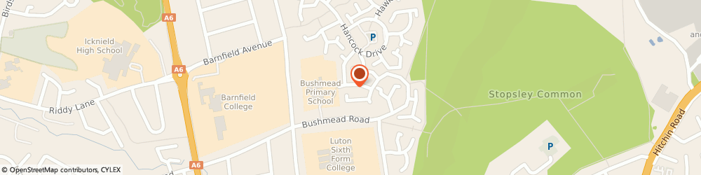 Route/map/directions to Bushmead Medical Centre, LU2 7YT Luton, 131 Bushmead Road