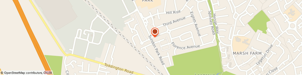 Route/map/directions to Heales Chiropractic Clinics, LU3 3AH Luton, 146 SUNDON PARK RD