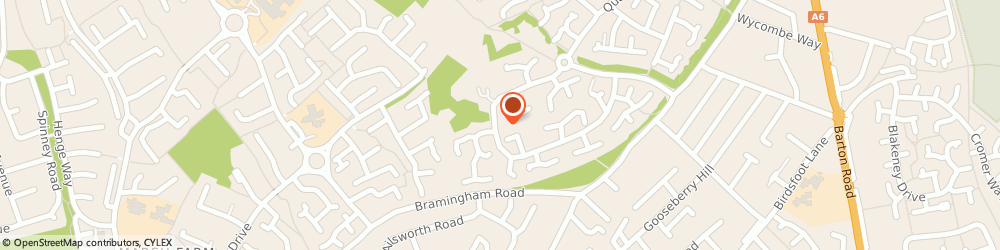 Route/map/directions to Golding Home Inspections, LU3 3XQ Luton, 12 Leamington Rd