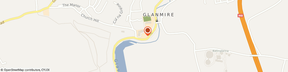 Route/map/directions to A Collins Broken Glass Repairs,  Glanmire,