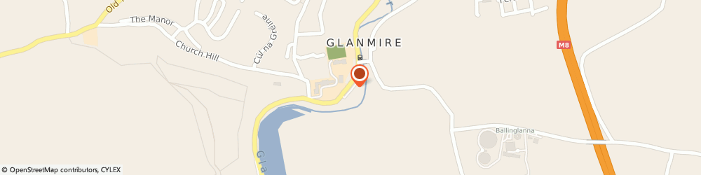 Route/map/directions to Direct Glass & Glazing,  Glanmire, Glanmire Village Business Park
