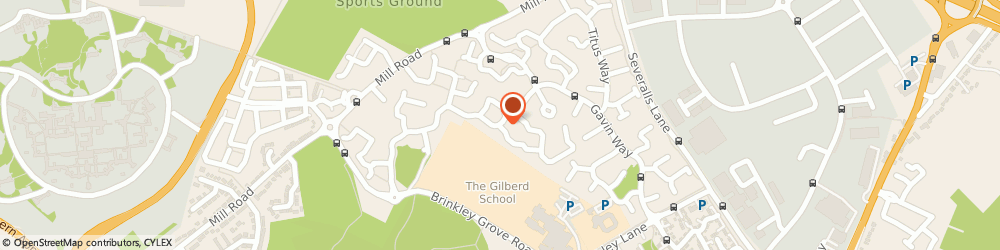 Route/map/directions to Highwoods Methodist Church, CO4 9FF Highwoods, GAVIN WAY